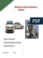 [Apostila - Renault] Engenharia de Materiais Nos Projetos Automotivos