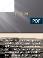 Erosion, Sedimentation and River Basin