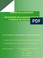 Decisiones en Almacenamiento y Manejo de Materiales