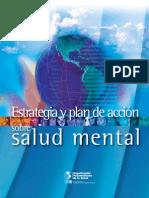 Estrategias y Plan de Accion de Salud Mental