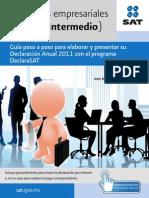 Guía para Elaborar y Pressentar Declaración Anual Régimen Intermedio 2011