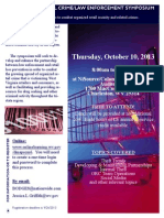 Organized Retail Crime-Law Enforcement Symposium