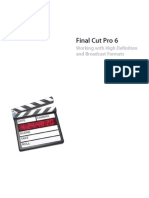 Final Cut Pro 6 HD and Broadcast Formats