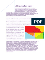 Problema marítimo entre Perú y chile
