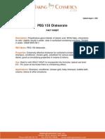 Peg 150 Espesante Cas 9005-08-7