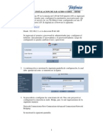 Manual de Instalación de IAD Audiocodes MP202 - v.5-120711