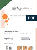 Uniones de Madera Laminada Con Concreto y Acero 1