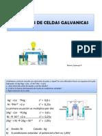 Ejercicios de Celdas Galvanicas