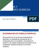 Quimica 05 - Fórmulas y Ecuaciones Químicas