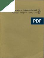 Amnesty International Report 1974