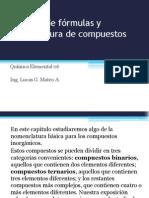 Quimica 06 - Escritura de fórmulas y nomenclatura de compuestos