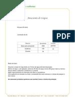 Formulas Produtos de Limpeza