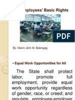 Employees' Basic rights