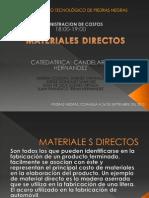 Materiales Directos