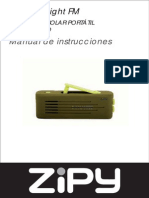 Eco Linterna Sun Light Fm Manual212