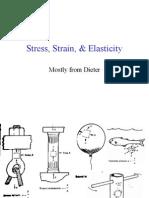Stress,Strain & Elasticity