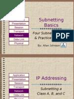Sub Netting Basics