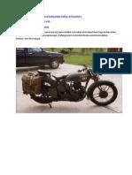 Motosikal Tentera Pada Zaman Perang Dunia Kedua