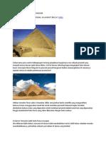 Misteri Binaan Piramid Terjawab
