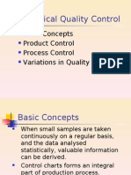 QM-Statistical Quality Control