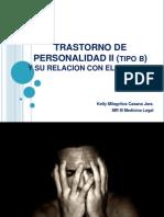 Trastorno de Personalidad II (Tipo b)