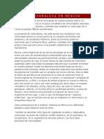 LA NATURALEZA EN MÉXICO (libro de lecturas)