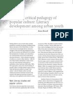 (2002) Morrell - Toward a Critical Pedagogy of Popular Culture Literacy Development Among Urban Youth