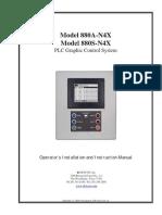 Model 880A-N4X / Model 880S-N4X