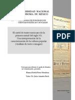 Pérez Mendoza Blanca Estela - El cartel de teatro mexicano