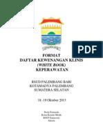 Dody Firmanda 2013 - Format Daftar Kewenangan Klinis Keperawatan