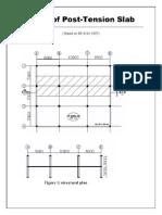 Design of PT Slab