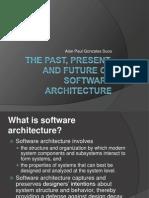 Arquitectura de Software Diapos Pastpresentfuture