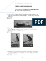Anterior Knee Pain Exercises
