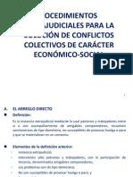 Derecho Procesal Laboral Colectivo Segundo Parcial 2013