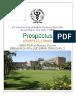 AIIMS Pg-prospectus
