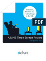 The Scren Report - Television, Internet and Mobile Usage in the US