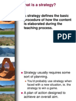 12a) What is a Strategy
