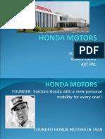 Honda Final Ppt to Show