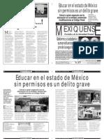 Versión impresa del periódico El mexiquense  3 octubre 2013