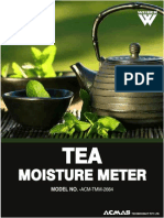 Tea Moisture Meter
