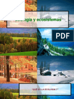 Diapositiva 1 Que Es La Ecologia