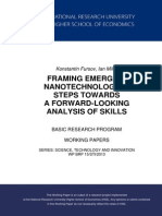 Framing Emerging Technologies (Nanotechnology)