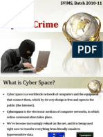 45792947 Cyber Crime Ppt