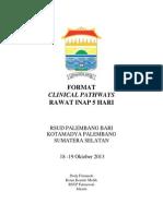 Dody Firmanda 2013 - Format Clinical Pathways 5 Hari