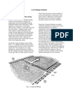 Coal Mining Methods - EMFI Summary
