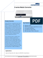 Corecess 3700 Series Datasheet v1.0