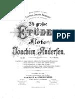 Christian Joachim Andersen - 24 Studies for Flute Op.15