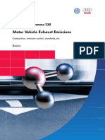 Motor Vehicle Exhaust Emissions