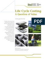 Life Cycle Costing - A Question of Value