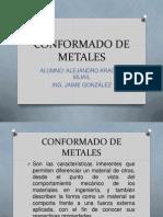 Conformado de Metales - Alejandro Aragon m.